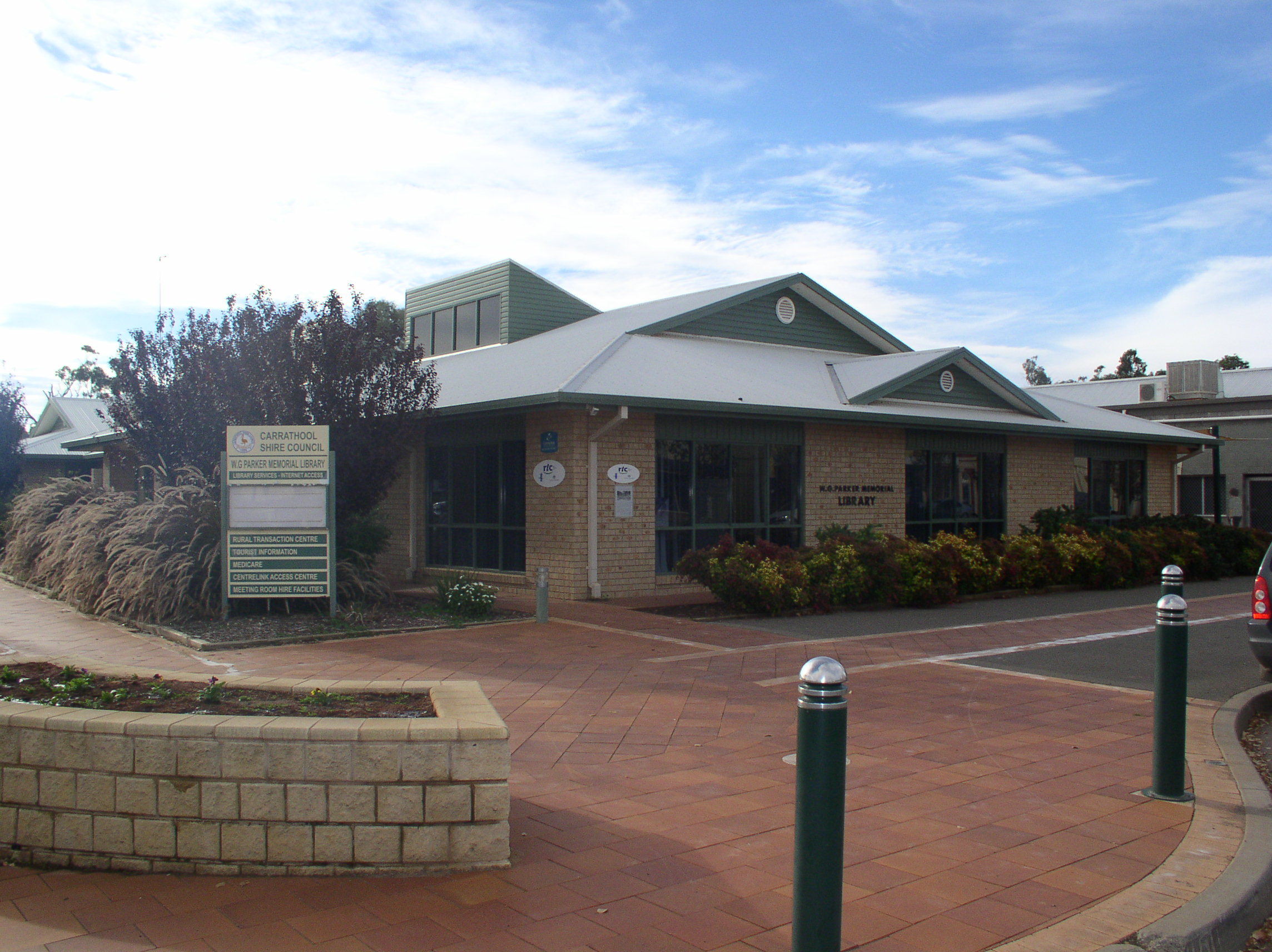Carrathool Shire Council W.G. Parker Memorial Library